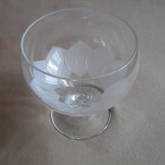 Pahare - Pahar cristal Rosenthal Lotus Blossom