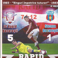 Program meci - 2A(56X) Program de meci-RAPID -STEAUA