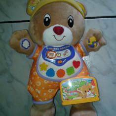 Consola TV Vtech V.smile Baby Bailey Bear - doar unitate mobila - in lb.engleza + caseta cu jocuri Bailey Bear