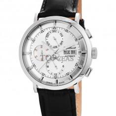 Ceas de lux Engelhardt Edgar Steel Silver, original, nou, cu factura si garantie! - Ceas barbatesc Engelhardt, Mecanic-Automatic