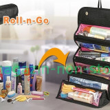 Geanta Organizatoare Pentru Cosmetice Accesorii -- Roll - N - Go Cosmetic Bag