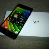 Telefon mobil Dual SIM, Alb, 32GB, Neblocat, Dual SIM, Quad core - Iocean x7 Elite 2gb ram, 32gb memorie interna.