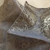 Esarfa eleganta voal negru cu ape aurii - Esarfa, Sal Dama, Culoare: Din imagine, Marime: Marime universala