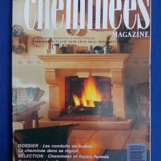 MAGAZIN SEMINEE ( REVISTA ) - CHEMINEES MAGAZINE NR.37 - PARIS - 1989 - Carte Hobby Amenajari interioare