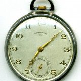 CEAS ORIGINAL ELVETIAN ARVA (GENEVE) CHRONOMETRE 45 MM EXTRAPLAT FUNCTIONAL DEOSEBIT - Ceas de buzunar
