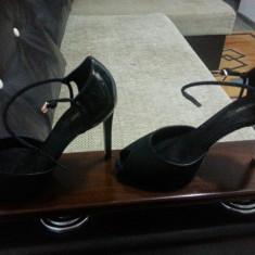 PANTOFI ZARA BASIC-40 - Pantof dama Zara, Culoare: Negru