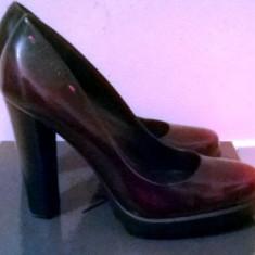 Vand pantofi dama calvin klein originali okazie!!! - Pantof dama Calvin Klein, Marime: 38, Culoare: Negru, Piele naturala, Negru