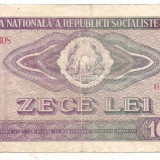 Bancnota-ROMANIA-10 Lei 1966, An: 1966
