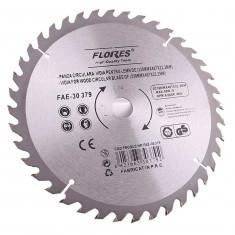 Panza fierastrau circular cu pastile vidia pentru lemn 125mmX24TX22.2mm - Surubelnita/Inbus