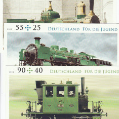 Timbre straine - Trenuri, locomotive, CP, Germania,