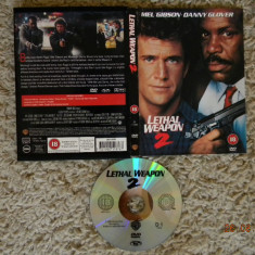 Lethal Weapon 2 DVD Original - Film actiune warner bros. pictures, Engleza