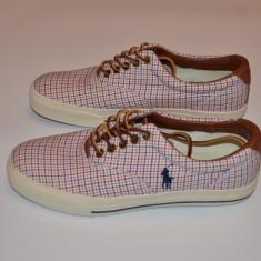 Ralph Lauren Vaughn Sneaker madras 41 si 42 (reducere finala) - Adidasi dama Polo By Ralph Lauren, Culoare: Din imagine