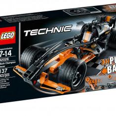 LEGO Technic, 6-10 ani, Lego - Lego 42026 Black Champion Racer Technic Masina neagra de curse, Nou, Sigilat