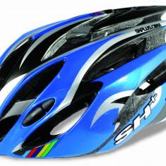 Casti Bicicleta SH+ NATT blue-silver, 58-62/L-XL