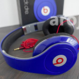 Casti Monster Beats by dr. dre - model Studio - culoare albastru