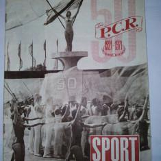 Revista SPORT Nr. 9 / 1971 Articol : Numar aniversar : 50 de ani ai PCR, Progresul Bucuresti