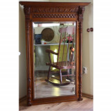 Oglinda mare cu rama sculptata - Mobilier