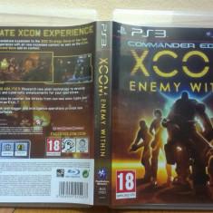 XCOM Enemy Within (PS3) (ALVio) + sute de alte Jocuri PS3 Sony ( VAND SCHIMB ), Actiune, 18+