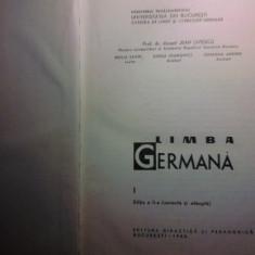 SAVIN/LIVESCU - LIMBA GERMANA VOL.I + VOCABULAR - Curs Limba Germana Altele
