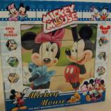 Puzzle 3D cu Mickey Mouse, Carton, Unisex