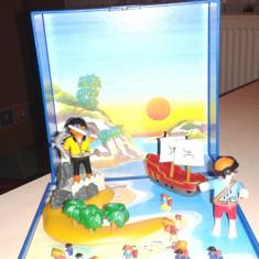 Set playmobile cu piati si corabie - Jocuri Seturi constructie