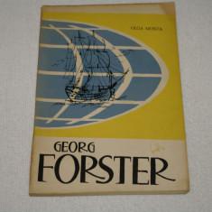 Carte de calatorie - Georg Forster - Olga Monta - Editura Tineretului - 1964