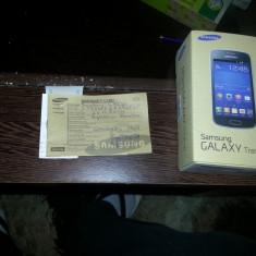 Telefon mobil Samsung Galaxy Trend Lite, Negru, Telekom - SAMSUNG GALAXY TREND LITE