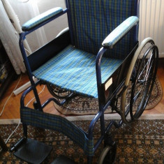 Scaun cu rotile - Carucior pliabil persoane handicap FAZZINI produs un Italia