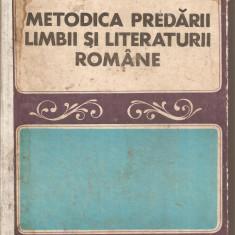 Carti de stiinta - (C5392) METODICA PREDARII LIMBII SI LITERATURII ROMANE IN SCOALA GENERALA SI LICEU, COORDONATOR: I.D. LAUDAT, EDP, 1973