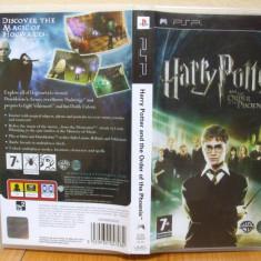 Harry Potter and the Order of the Phoenix (PSP) (ALVio) + sute de alte Jocuri PSP Electronic Arts ( vand schimb ), Actiune