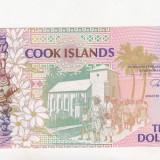 Bancnota Straine - Bnk bn cook island 3 dolari, unc
