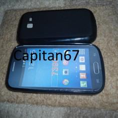 Husa Silicon Samsung Galaxy trend lite s7390 Negru - Husa Telefon