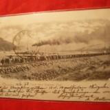 Ilustrata Orsova - Canalul Eisernen Thor, circ. cu Spic de Grau, cca. 1900 - Carte Postala Banat dupa 1918