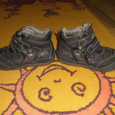 Ghete / bocanci impermeabili TEX iarna nr 30 - Bocanci copii, Culoare: Maro, Baieti, Maro