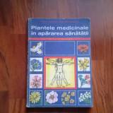 CARTE PLANTELE MEDICINALE IN APARAREA SANATATI DE FARMACEUT CORNELIU CONSTANTINESCU EDITIA A-4-A 1976 - Carte tratamente naturiste