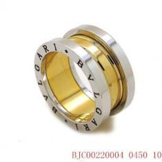 Inel placate cu aur - Inel BVLGARI Placat Cu Aur 18K - Marime Disponibila : 9