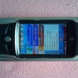 Telefon Motorola, Gri, Nu se aplica, Single core, Nu se aplica, 2.5'' - Motorola A925 colectie piese stylus baterie tot original