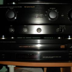Linie DENON PMA-980R si DENON DCM-320 - Amplificator audio Denon, 121-160W