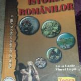 Manual scolar, Teora, Istorie - Carte de Istorie Manual de Istoria Romanilor - Manual pentru clasa a VIII Teora