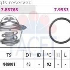 Termostat auto - Termostat, lichid racire VW GOLF Mk II 1.3 - FACET 7.8376