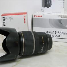 Canon EF-S 17-55/f2.8 IS USM - Obiectiv DSLR Canon, Wide (grandangular), Autofocus, Canon - EF/EF-S, Stabilizare de imagine