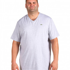 Barbati Lacoste Tall S/S Jersey V-Neck T-Shirt | 100% original | Livrare cca 10 zile lucratoare | Aducem pe comanda orice produs din SUA - Bluza barbati