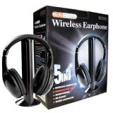 Casti Wireless Headphone MH2001 Noi - Casti PC, Casti cu microfon
