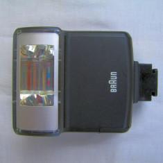 Blitz Braun contact central numar ghid 16 la 100 iso, Aparat foto cu film