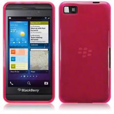 Husa Blackberry Z10 Protectie spate gel TPU roz - Husa Telefon Blackberry, Fara snur, Carcasa