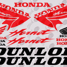 Honda Hornet Kit_Sticker Motor_Scuter_Tuning_MDEC-056-Dimensiune: 35 cm. X 24.5 cm. - Orice culoare, Orice dimensiune