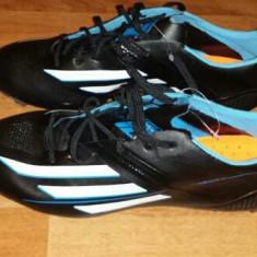 Ghete fotbal Adidas, 42 2/3, Negru, Barbati, Iarba - Adidas f50 profesionale