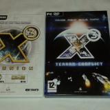 X3 Reunion GOTY + X3 Terran Conflict - Jocuri PC Altele, Strategie, 12+