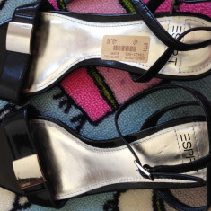 Sandale Esprit noi - Sandale dama Esprit, Marime: 40