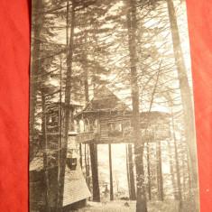 Carte Postala - Ilustrata Sinaia- Cuibul Printesei, stamp. de Ambulanta Predeal -Bucuresti -1911